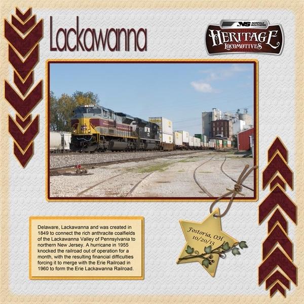 Lackawanna Heritage Unit