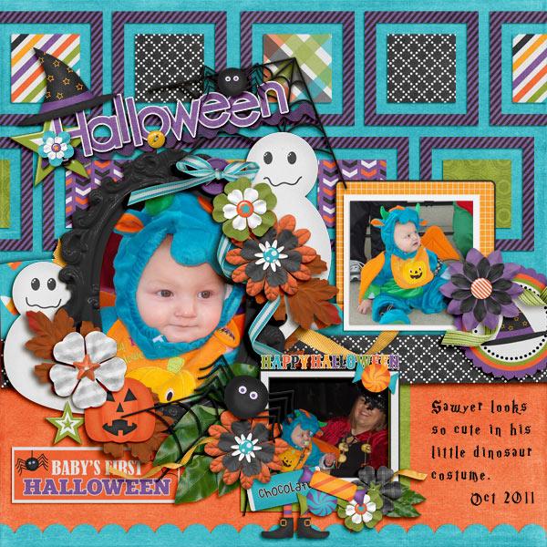 Sawyer - 1st Halloween