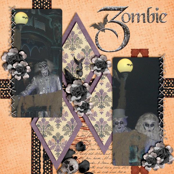 Zombie (Color Challenge October)