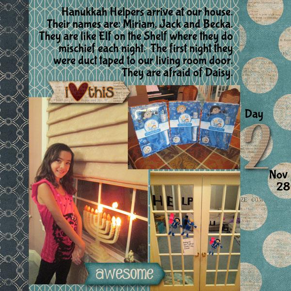 Hanukkah Day 2