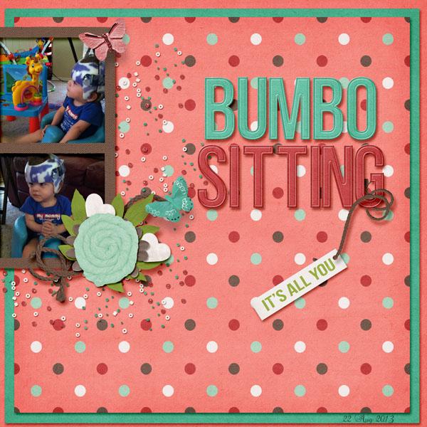 Bumbo Sitting