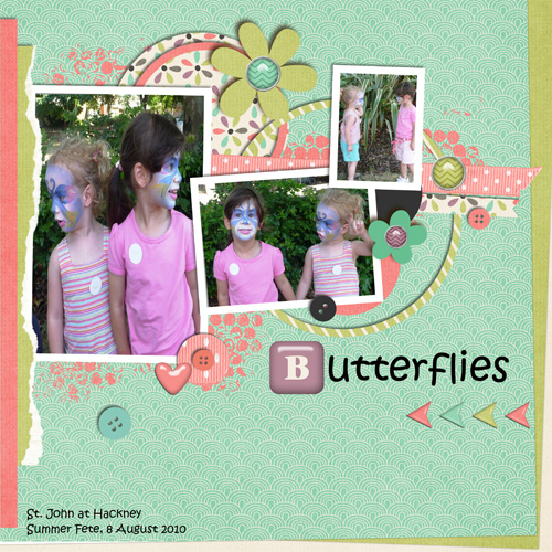 Little butterflies