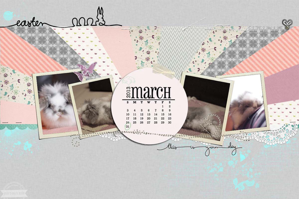 My March