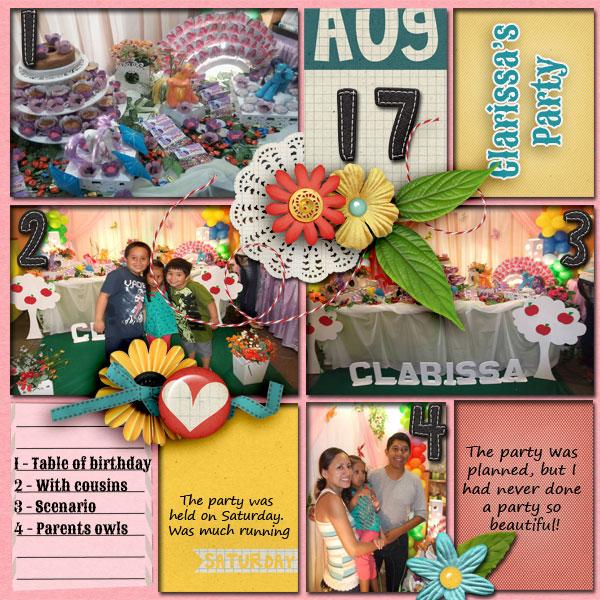 Clarissa's Party