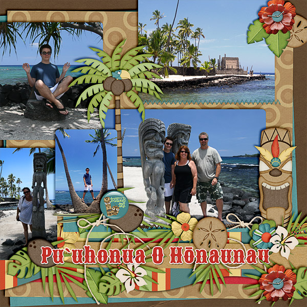 Pu'uhonua O Honaunau