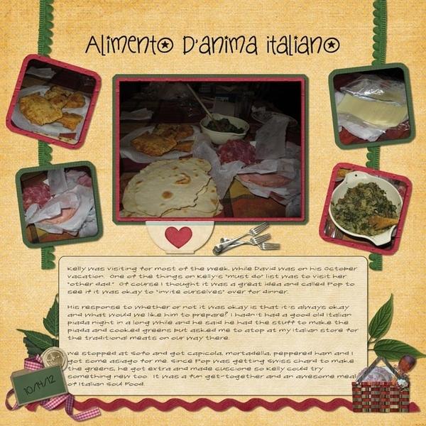 Alimento d'anima Italiano