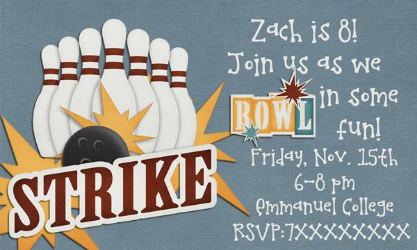 Zach's invite