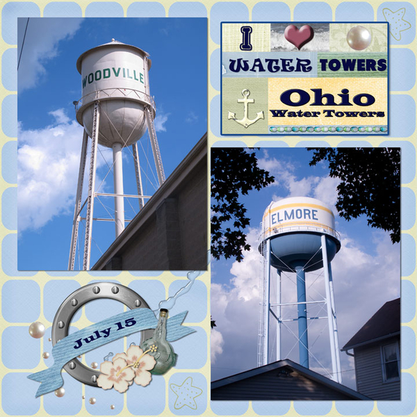 Ohio Water Towers