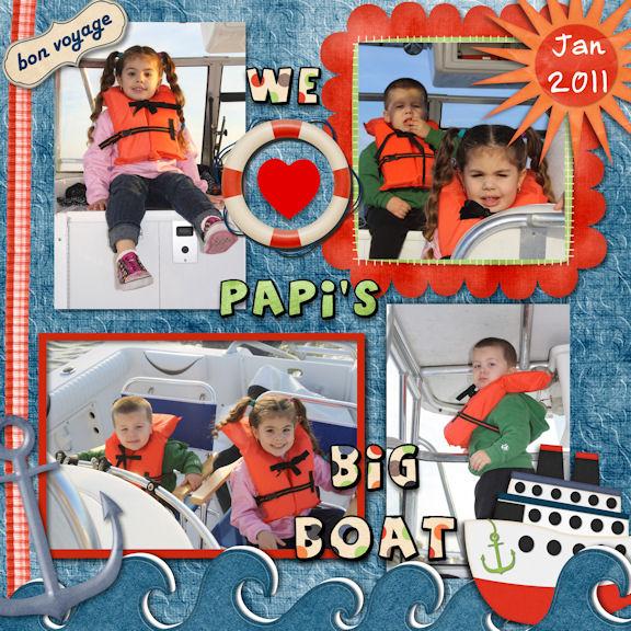 Papi's Big Boat