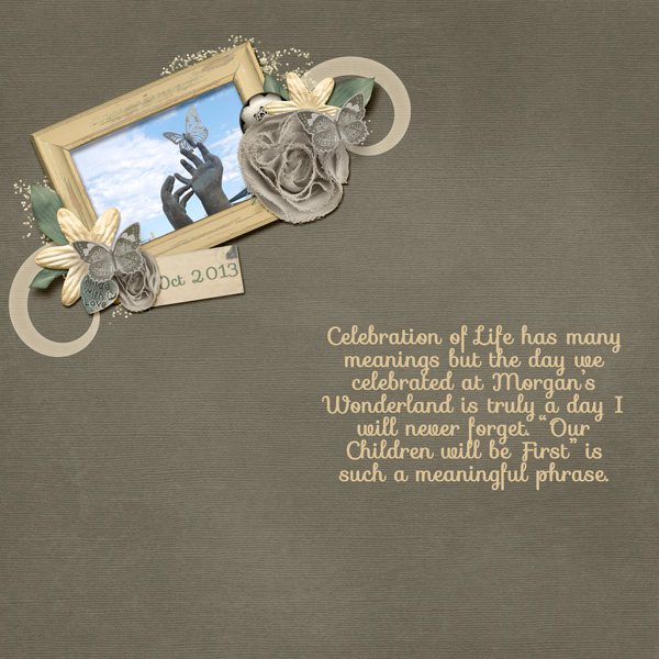 Celebration of Life Cover Page