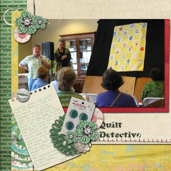 Quilt Detective