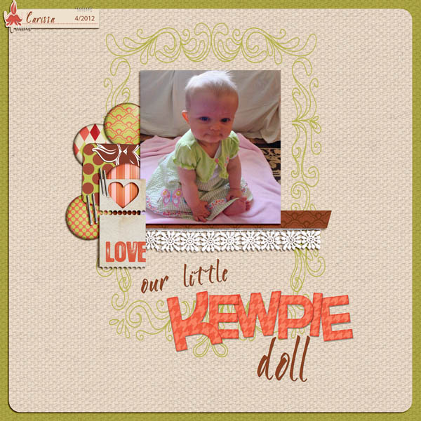 Love Our Little Kewpie Doll