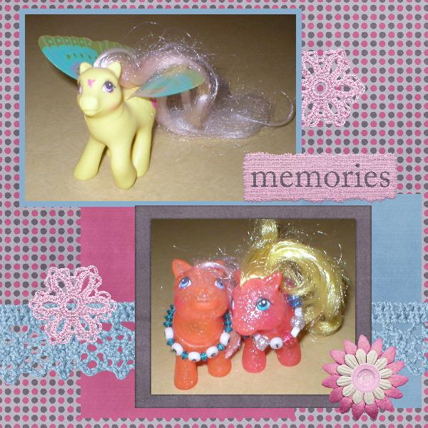 Mini Kit Challenge My Little Ponies