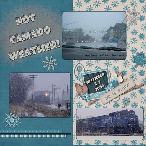 Not Camaro Weather!
