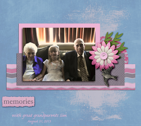 Memories with great grandparents