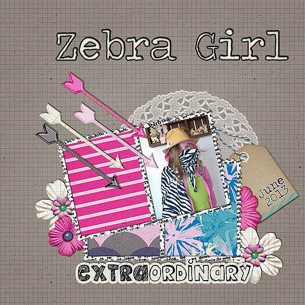 mini kit 2013-06 zebra girl
