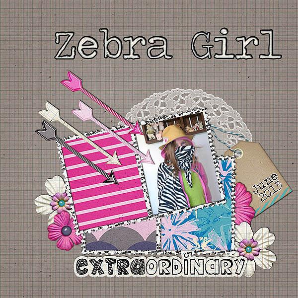 mini kit 2013-06 zebra girl