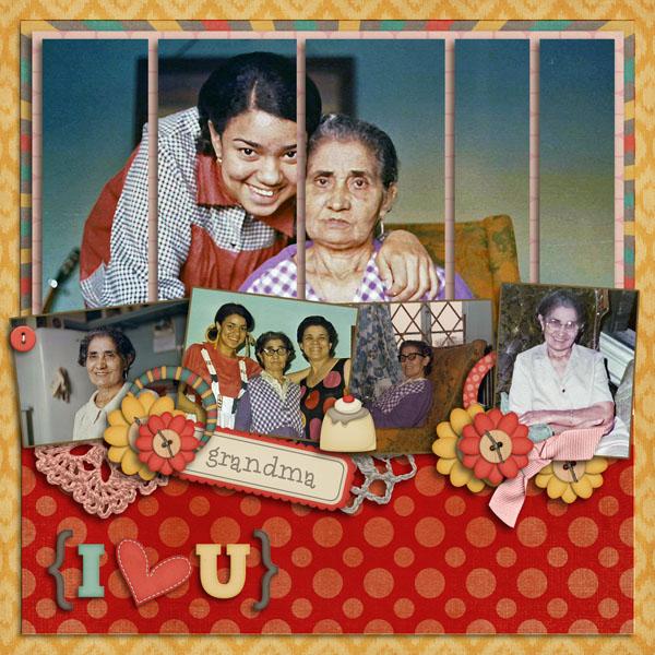 Grandma I Heart U