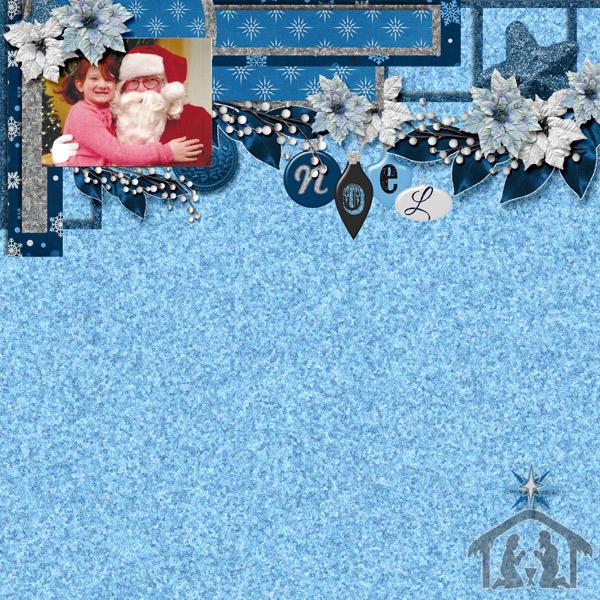 Savannah and Santa