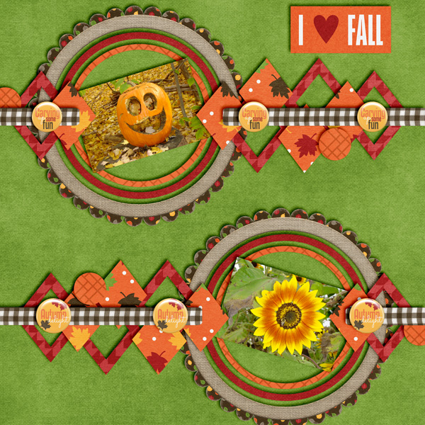 Mix It Up Surprise Challenge: I Love Fall