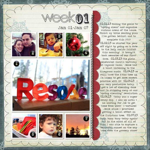 2013 Week 1