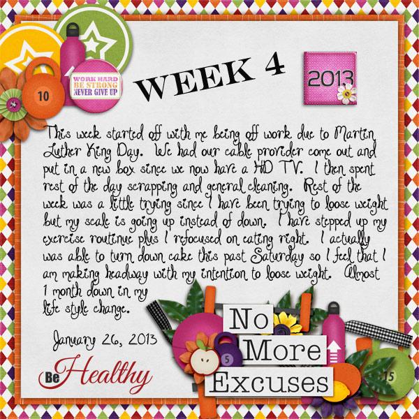 January - Week 4