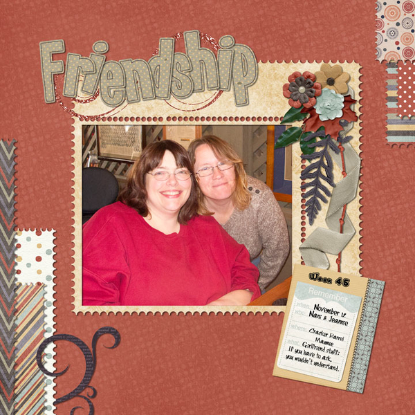 Friendship - Week 46