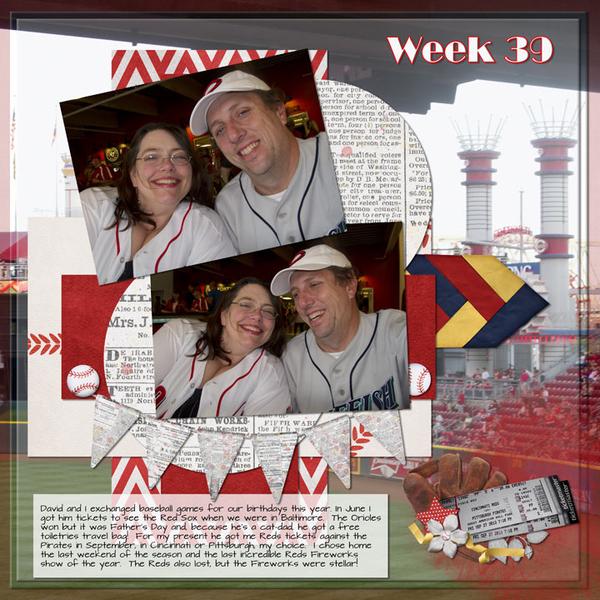 Week 39; Reds Game page 1
