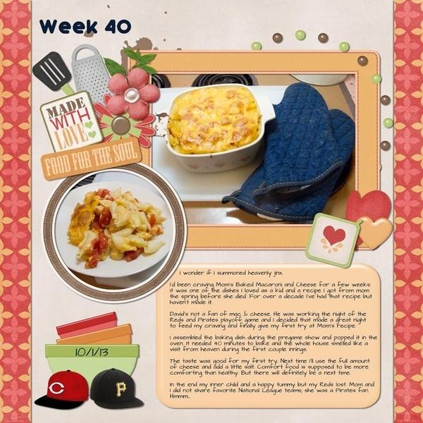 Week  40: Mac & Cheese