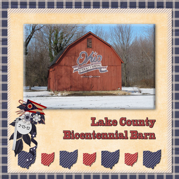 Lake County Bicentennial Barn