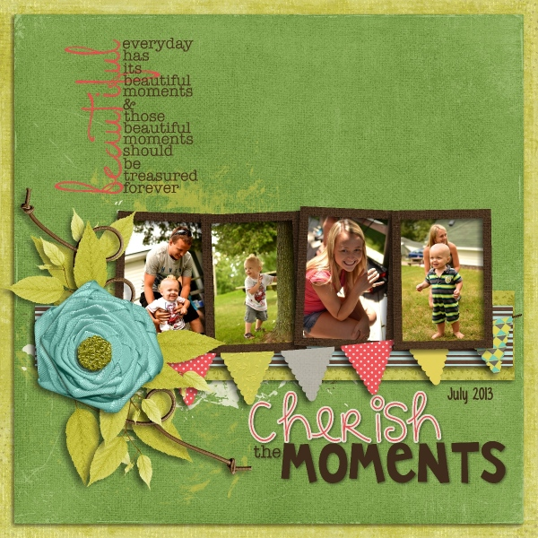 Cherish The Moments