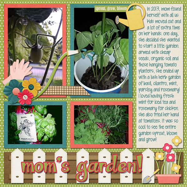 Mom's garden!