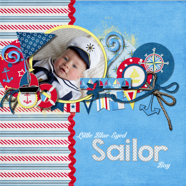 Little Blue-Eyed Sailor Boy