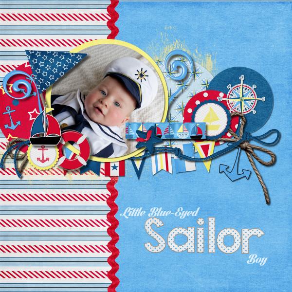 Little Blue-Eyed Sailor Boy