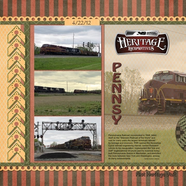 Pennsy Heritage Unit