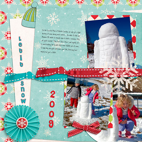 Let It Snow - Feb 1 Template Challenge