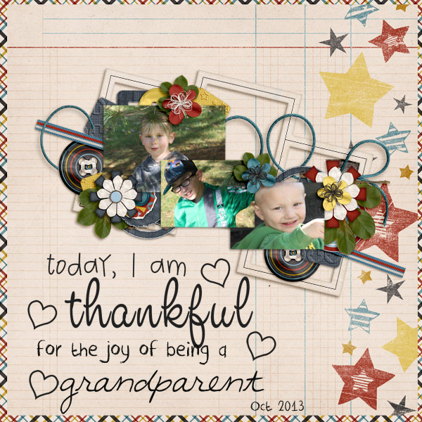 Thankful to be a Grandparent