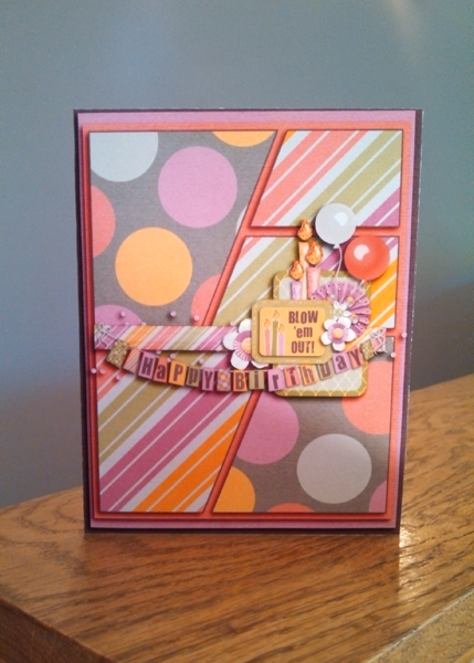 Girly BDay Card