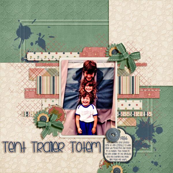Tent Trailer Totem