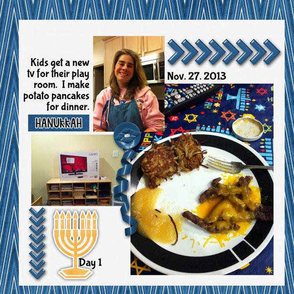 Hanukkah Day 1