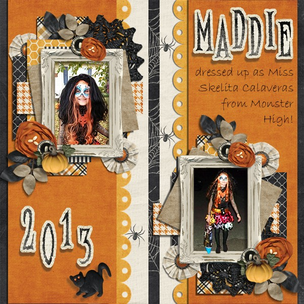 Halloween Maddie 2013