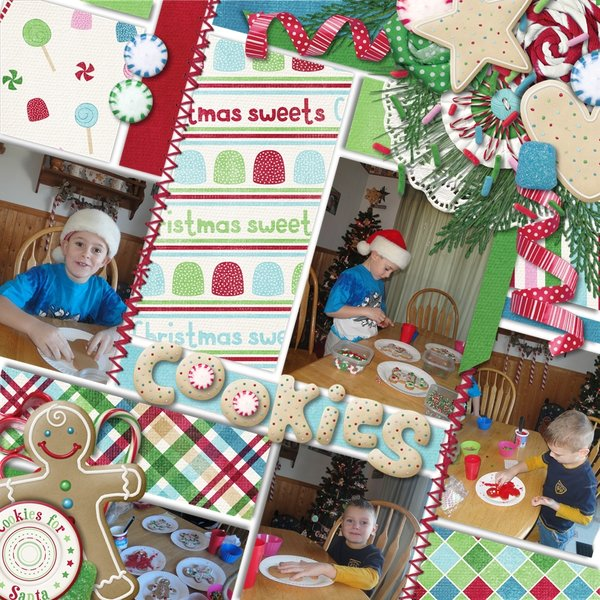Sweet Christmas by CathyK Designs