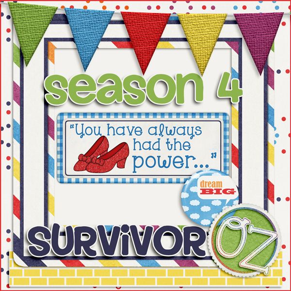Scrapping Survivor Season 4 *Oz*