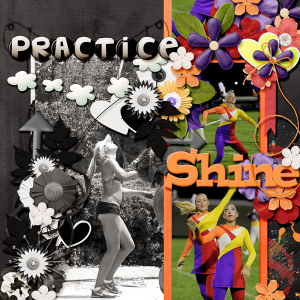 You Practice, Then  You Shine
