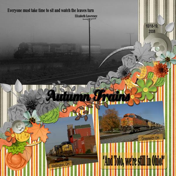 Autumn Trains