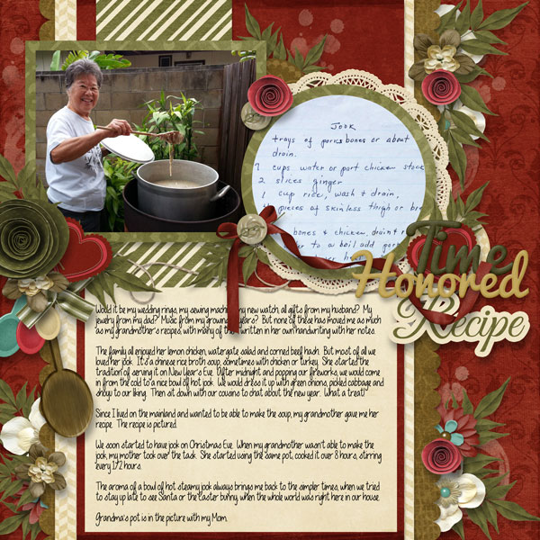 2013-10 Survivor Week #2 Magical - Time Honored Recipe
