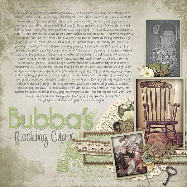 Bubba's Rocking Chair