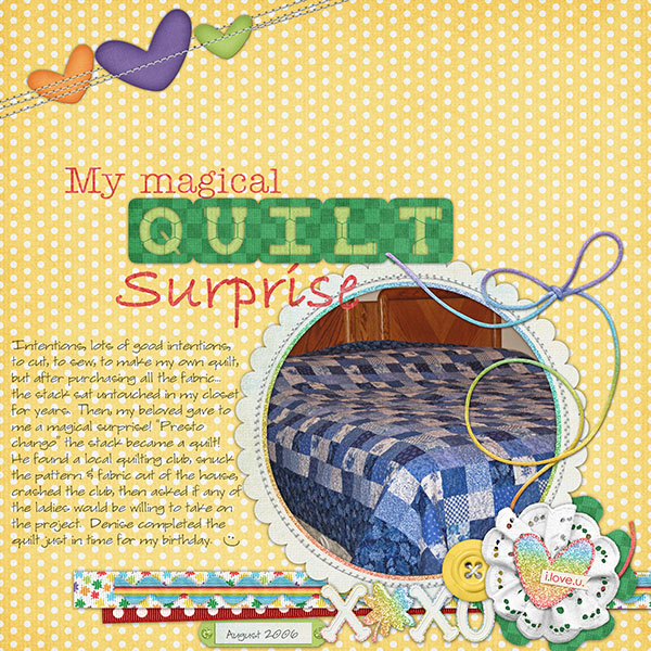 Magic Quilt Surprise