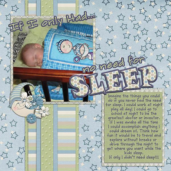 No need for Sleep!