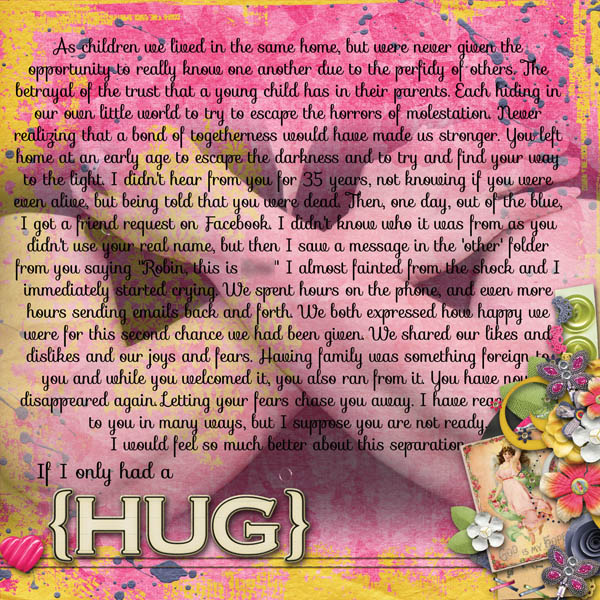 If I Only had a {HUG}